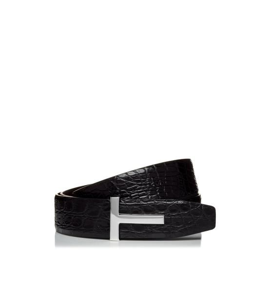 T SQUARE BUCKLE BELT