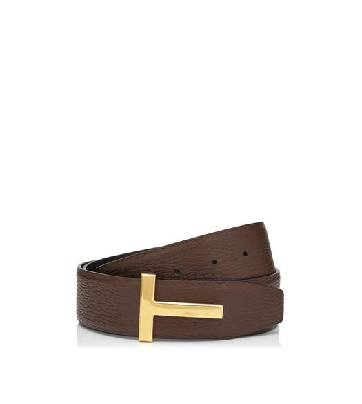 T BUCKLE REVERSIBLE BELT