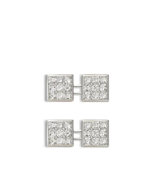 Diamond Square Cufflinks