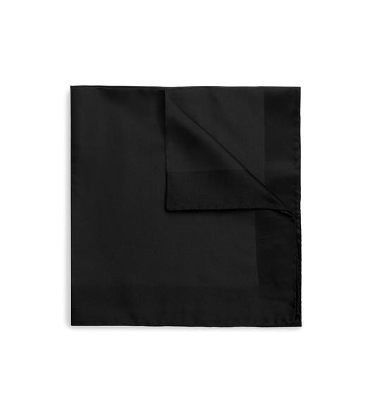 SILK TWILL CLASSIC POCKET SQUARE