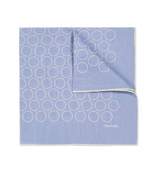 SILK BLEND WIDE HOOPS CLASSIC POCKET SQUARE