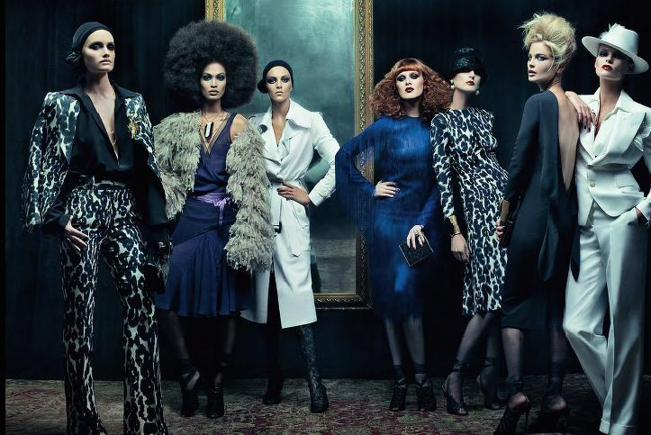 CFDA: Tom Ford's First Womenswear Collection, 2011 ...
