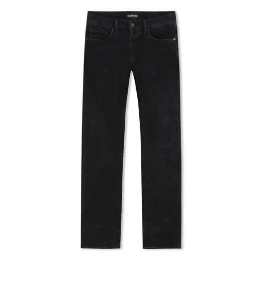 SLIM FIT CORDUROY JEANS