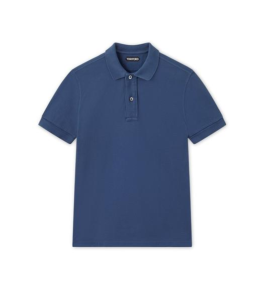 TENNIS PIQUET SHORT-SLEEVED POLO SHIRT