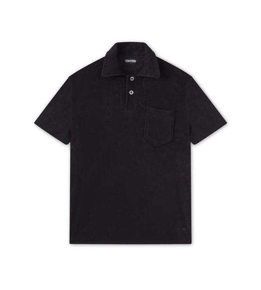 CLASSIC TOWELLING SHORT SLEEVED POLO SHIRT
