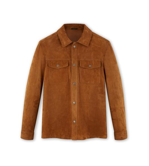 SIGNATURE SUEDE OVERSHIRT