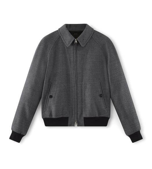 CAVALRY TWILL SARTORIAL ZIP JACKET