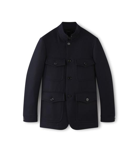JAPANESE FELT OFFICER JACKET
