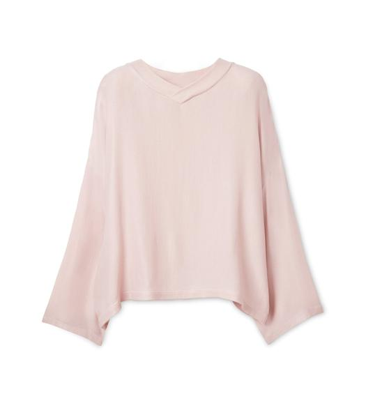 VISCOSE OVERSIZED TOP