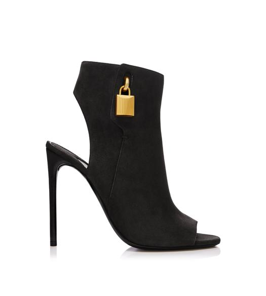 OPEN TOE ANKLE BOOTIE