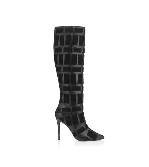 PURE LINE WEAVE TALL BOOT