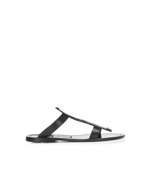 T SCREW FLAT SANDAL