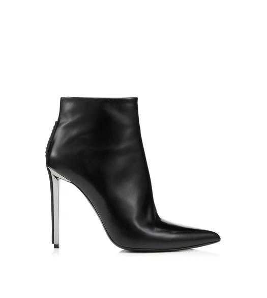 METAL HEEL ANKLE BOOT