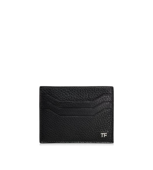 CREDIT CARD HOLDER WITH OPEN MIDDLE POCKET
