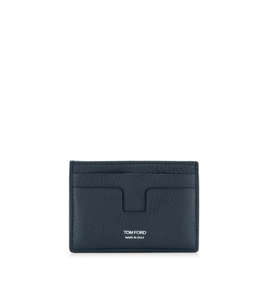 GRAINED LEATHER CLASSIC CARD HOLDER