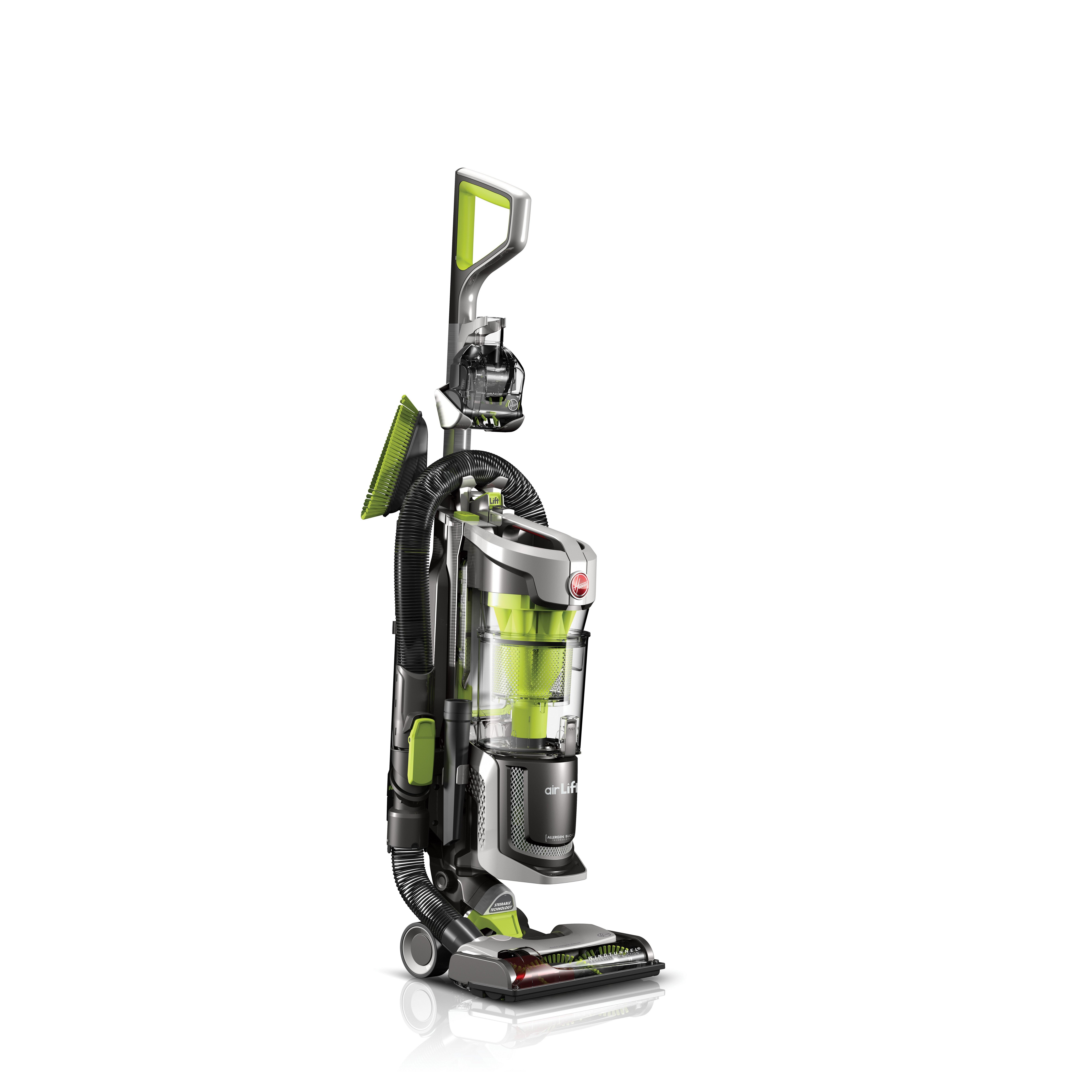 Hoover Air Cleaners : Hoover air lift deluxe bagless upright vacuum cleaner