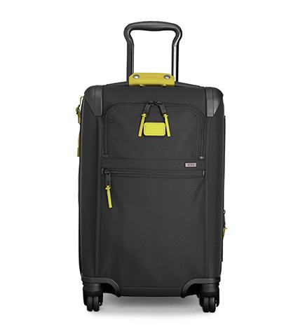 International Expandable 4 Wheeled Carry-On with Confetti TUMI Accent Kit