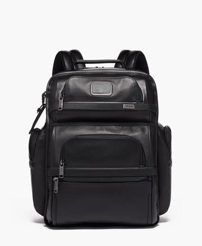 TUMI T-Pass Business Class Brief Pack Leather