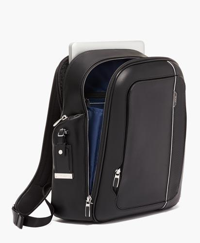 Larson Backpack Leather Alternate