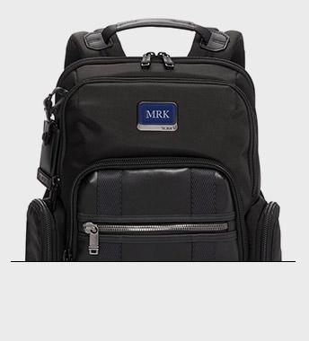 Monogrammable Backpacks