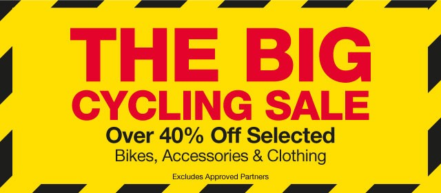 The BIG cycling sale