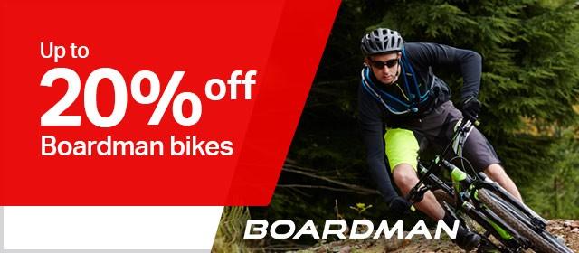 20% off boardman bikes