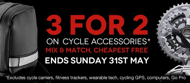 3 For 2 on Bike Accessories