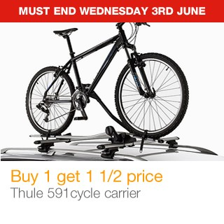Thule 591 cycle carrier