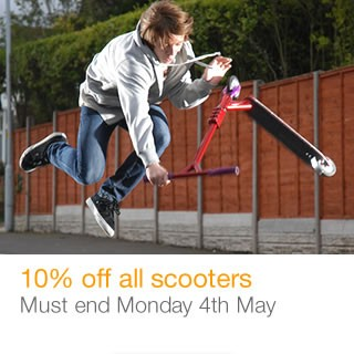 10% off all Scooters