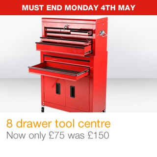 8 drawer tool centre