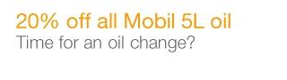 Mobil 5L oils