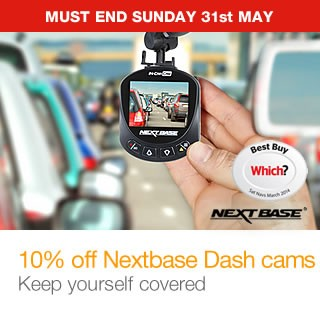 10% off Nextbase in car cams