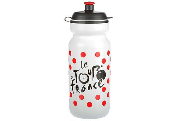 TDF Water Bottle Red Dot 600ml