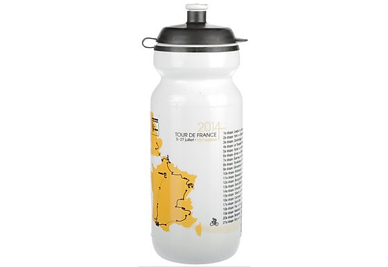 TDF Water Bottle White 600ml