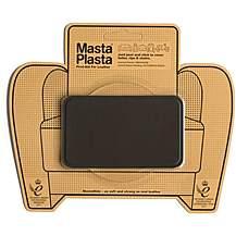 image of Mastaplasta Dark Brown Medium 10x6cm Stitch