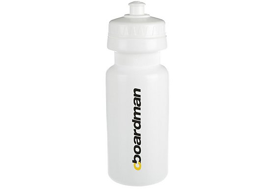 Boardman 600ml Water Bottle White