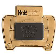 image of Mastaplasta Dark Brown Medium 10x6cm Crown