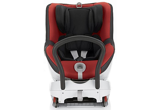 Britax DUALFIX Car Seat Chili Pepper