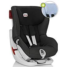 image of Britax KING II Summer Cover Car Seat Black Thunder