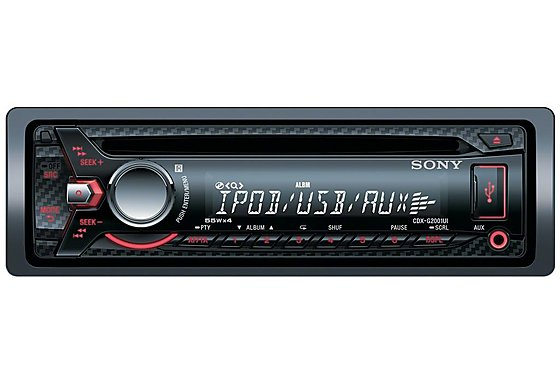 Sony CDX-G2001UI Car Stereo with Front USB for iPod/iPhone/Walkman