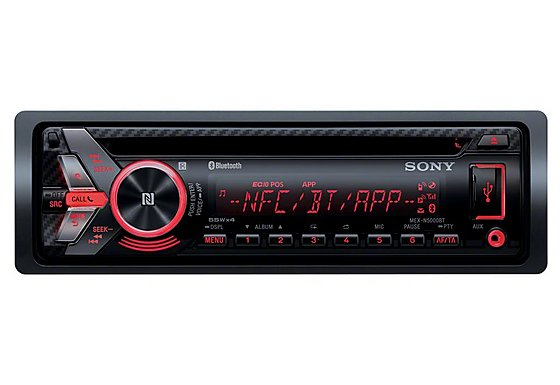 Sony MEX-N5000BT Car Stereo with Front USB