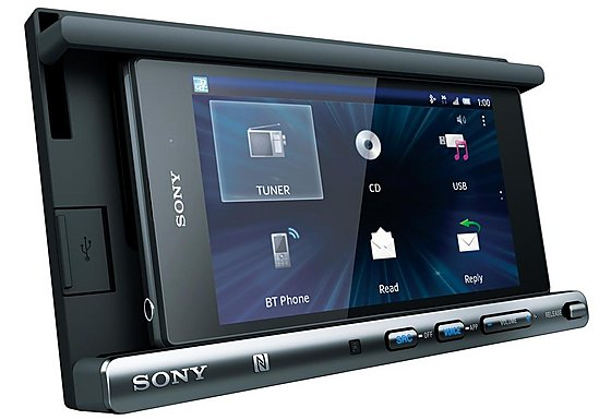 Sony XSP-N1BT Double Din Cradle Receiver