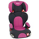 image of Graco Logico L Sport High Back Booster Seat - Pink