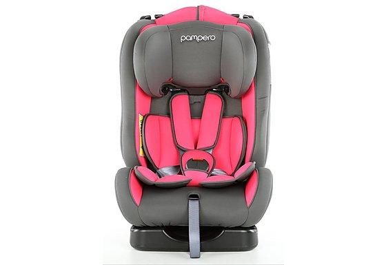 Halfords Pampero Cherub Baby Car Seat Pink