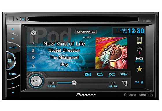 Pioneer AVH-X2600BT - Double Din Car Stereo 6.1