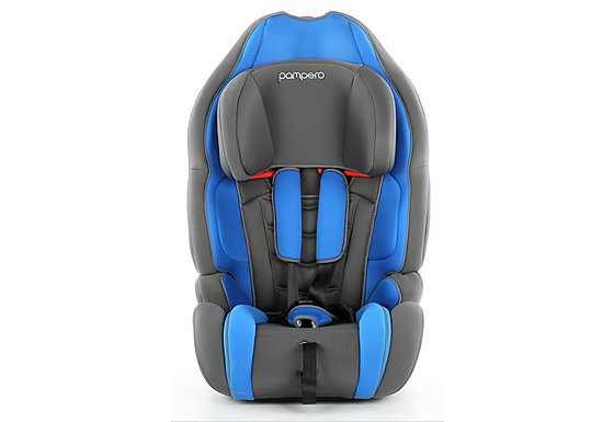 Pampero Little Monkey Child Car Seat - Blue