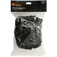 image of Halfords Essentials 12 Hook Luggage Net