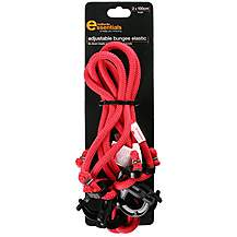 image of Halfords Essentials Adjustable Bungee Elastic 100cm x2