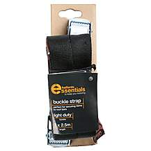 image of Halfords Essentials Buckle Strap 2.5m x2