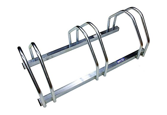 Mottez 3 Bike Floor Rack